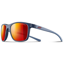 Julbo Trip Spectron 3CF Occhiali da sole Uomo, matt blue/matt blue/multilayer red